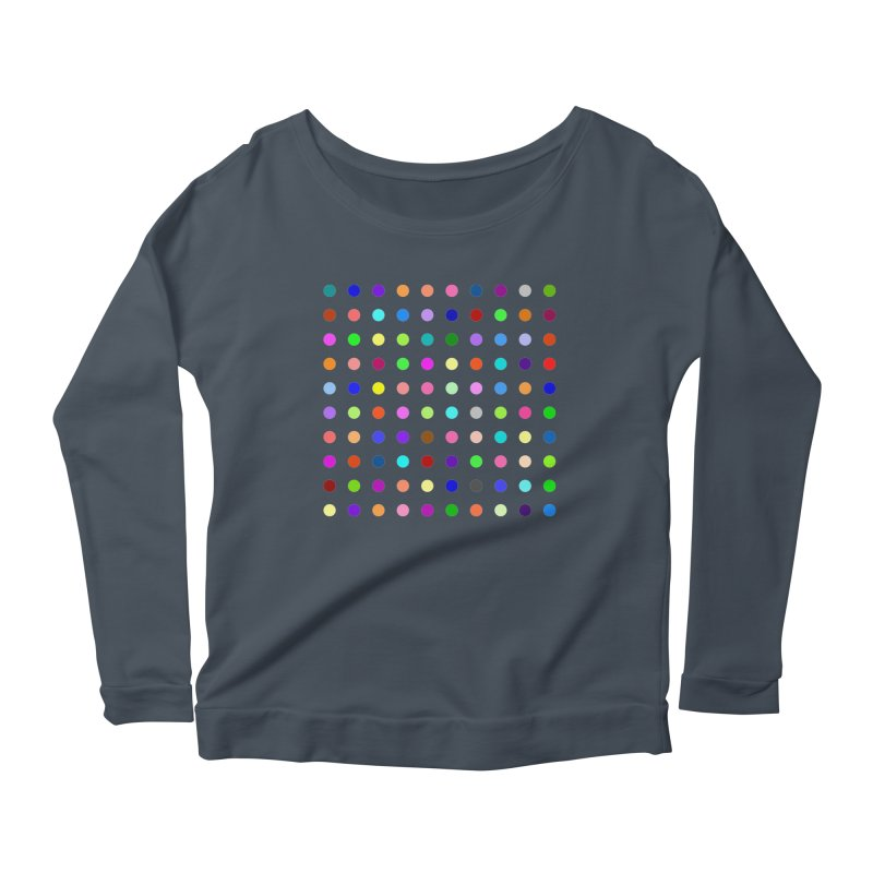 Flunitrazolam Women's Scoop Neck Longsleeve T-Shirt by Robert Hirst Artist Shop