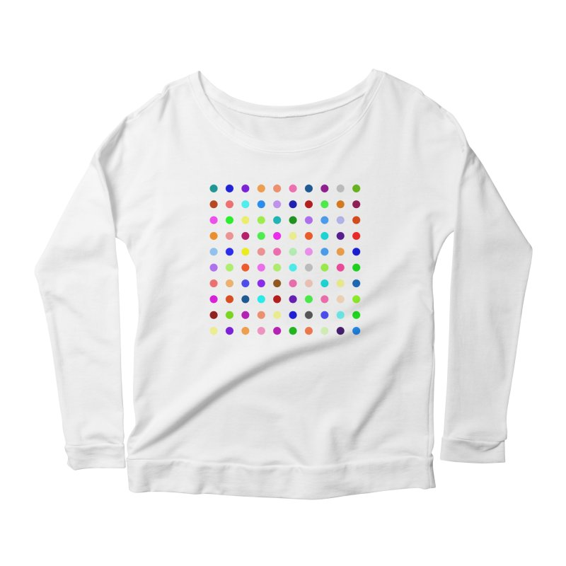 Flunitrazolam Women's Scoop Neck Longsleeve T-Shirt by Robert Hirst Artist Shop