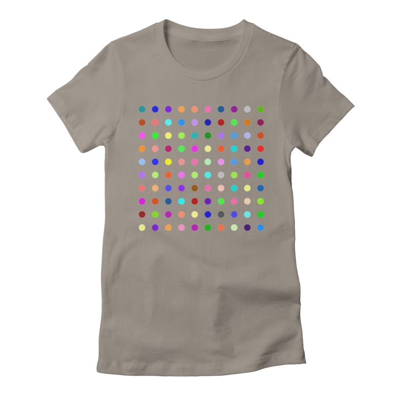 Flunitrazolam Women's Fitted T-Shirt by Robert Hirst Artist Shop