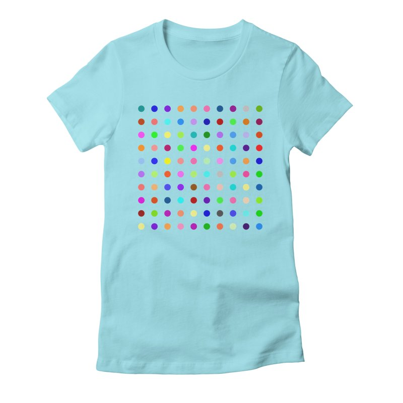 Flunitrazolam Women's Fitted T-Shirt by Robert Hirst Artist Shop