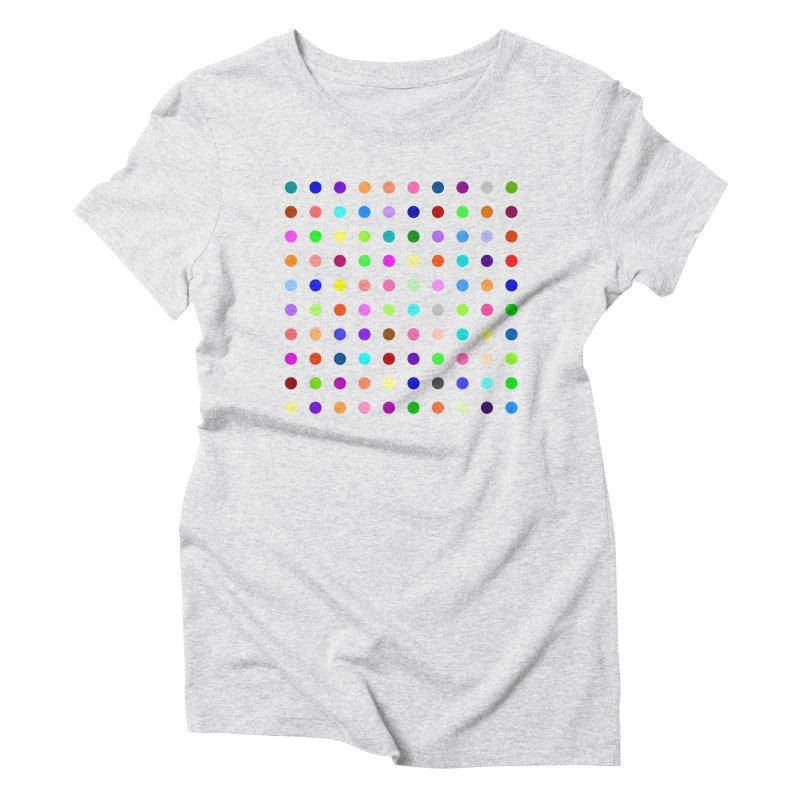 Flunitrazolam Women's Triblend T-Shirt by Robert Hirst Artist Shop