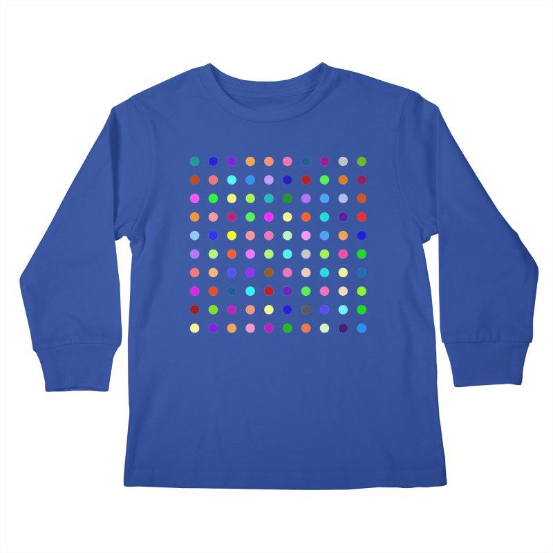 Flunitrazolam Kids Longsleeve T-Shirt by Robert Hirst Artist Shop