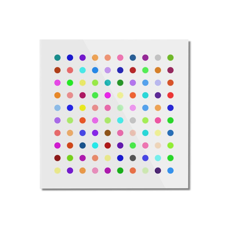 Flunitrazolam Home Mounted Acrylic Print by Robert Hirst Artist Shop