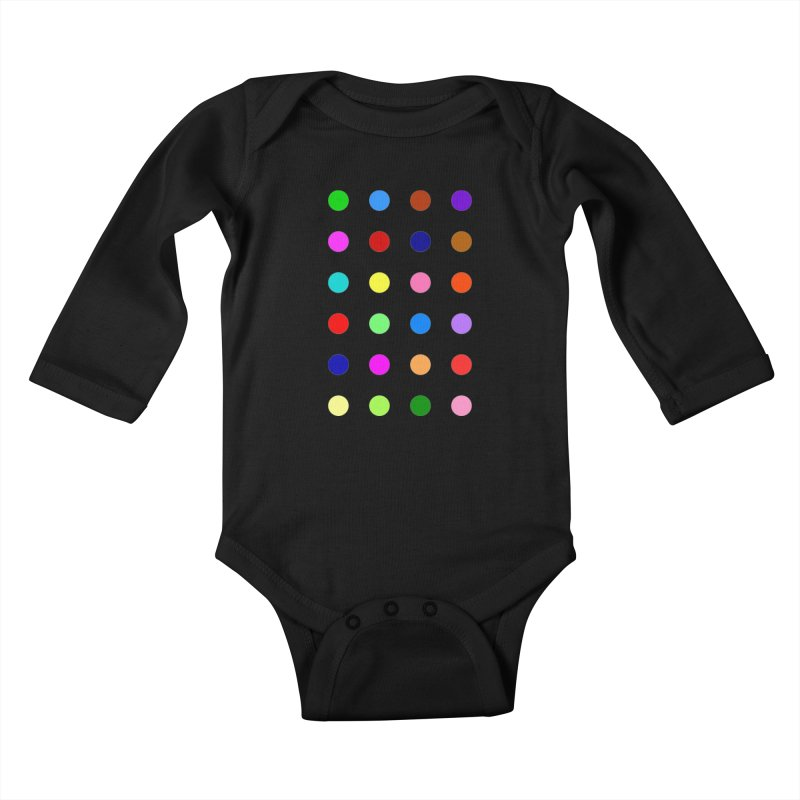 Flutoprazepam Kids Baby Longsleeve Bodysuit by Robert Hirst Artist Shop