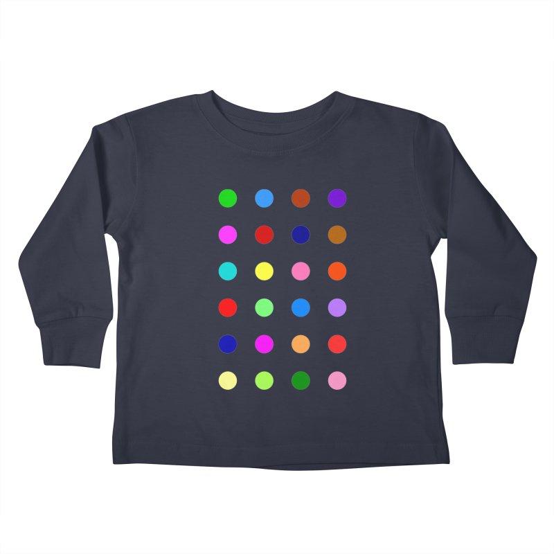 Flutoprazepam Kids Toddler Longsleeve T-Shirt by Robert Hirst Artist Shop