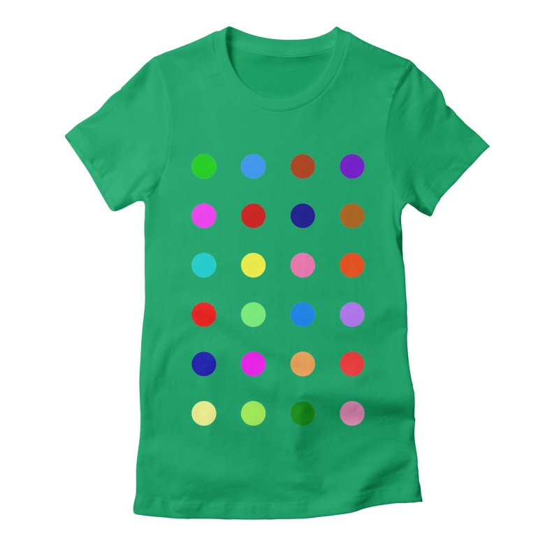 Flutoprazepam Women's Fitted T-Shirt by Robert Hirst Artist Shop