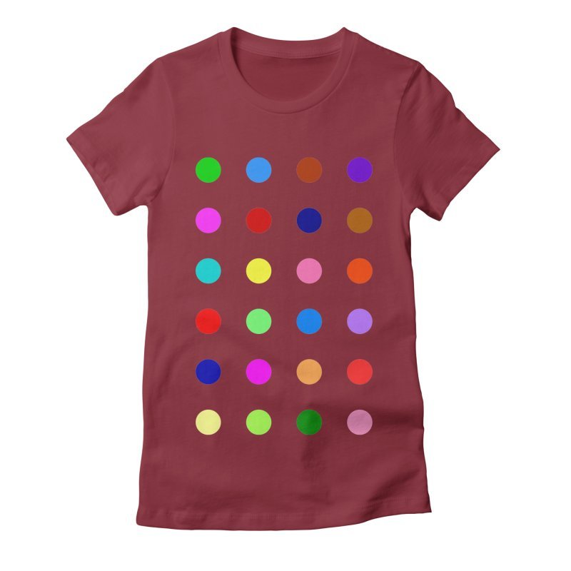Flutoprazepam Women's Fitted T-Shirt by Robert Hirst Artist Shop