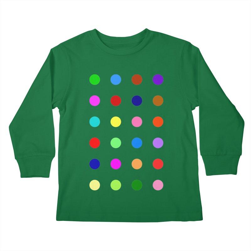 Flutoprazepam Kids Longsleeve T-Shirt by Robert Hirst Artist Shop