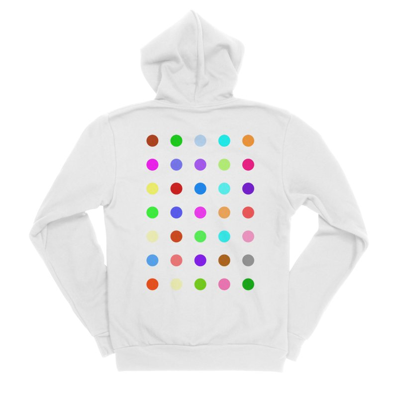 Ketazolam Women's Sponge Fleece Zip-Up Hoody by Robert Hirst Artist Shop