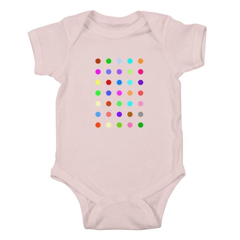 Ketazolam Kids Baby Bodysuit by Robert Hirst Artist Shop