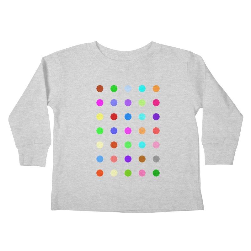 Ketazolam Kids Toddler Longsleeve T-Shirt by Robert Hirst Artist Shop