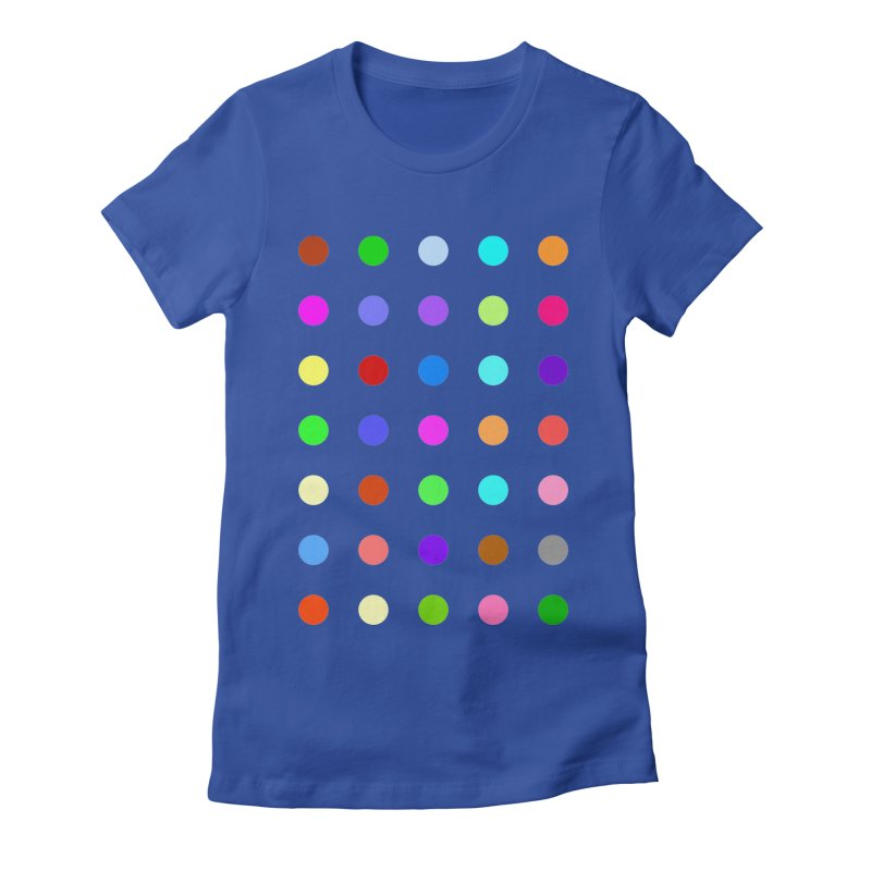 Ketazolam Women's Fitted T-Shirt by Robert Hirst Artist Shop