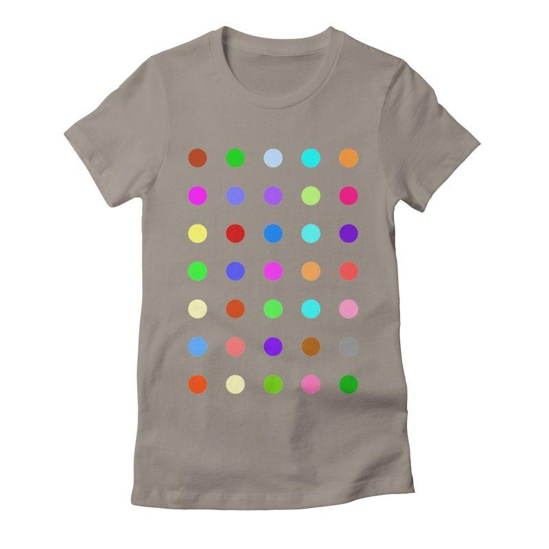 Ketazolam Women's Fitted T-Shirt by Robert Hirst Artist Shop