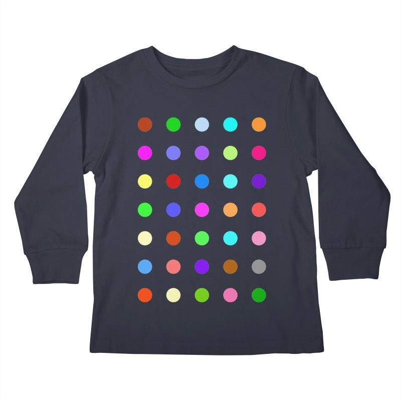 Ketazolam Kids Longsleeve T-Shirt by Robert Hirst Artist Shop