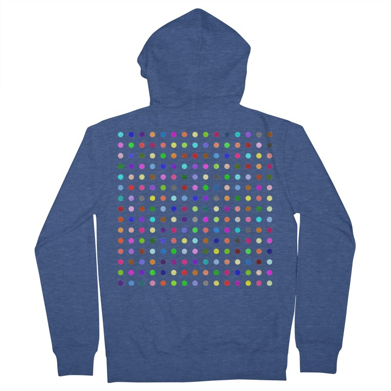 Meclonazepam Men's French Terry Zip-Up Hoody by Robert Hirst Artist Shop