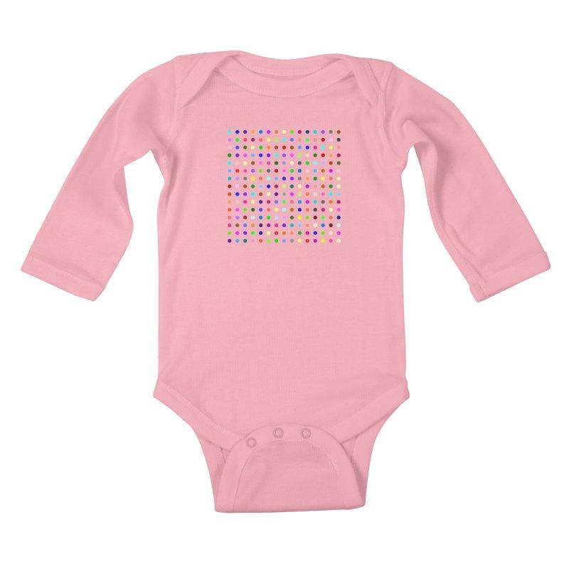 Meclonazepam Kids Baby Longsleeve Bodysuit by Robert Hirst Artist Shop