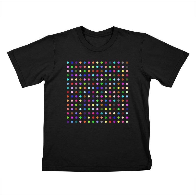 Meclonazepam Kids T-Shirt by Robert Hirst Artist Shop