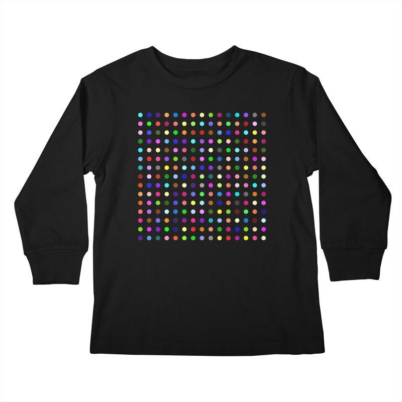 Meclonazepam Kids Longsleeve T-Shirt by Robert Hirst Artist Shop