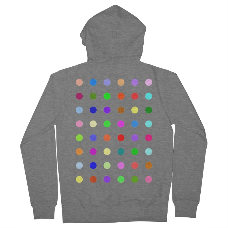 Metizolam Women's French Terry Zip-Up Hoody by Robert Hirst Artist Shop