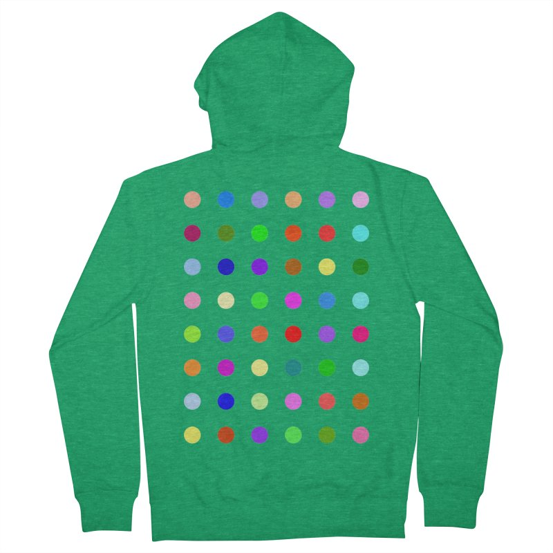 Metizolam Men's French Terry Zip-Up Hoody by Robert Hirst Artist Shop