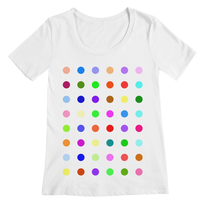 Metizolam Women's Regular Scoop Neck by Robert Hirst Artist Shop