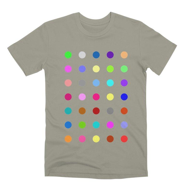 Nitrazolam Men's Premium T-Shirt by Robert Hirst Artist Shop