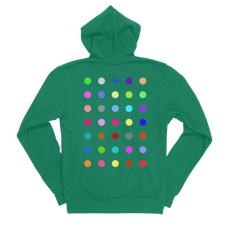 Nitrazolam Women's Sponge Fleece Zip-Up Hoody by Robert Hirst Artist Shop