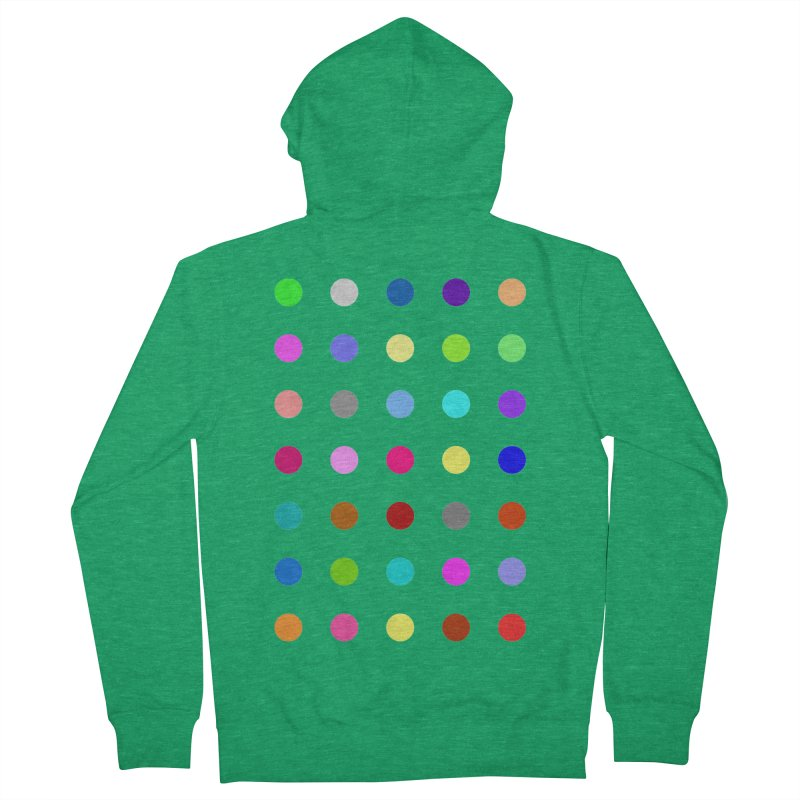 Nitrazolam Men's French Terry Zip-Up Hoody by Robert Hirst Artist Shop
