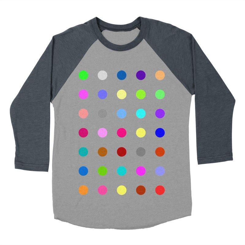 Nitrazolam Men's Baseball Triblend Longsleeve T-Shirt by Robert Hirst Artist Shop