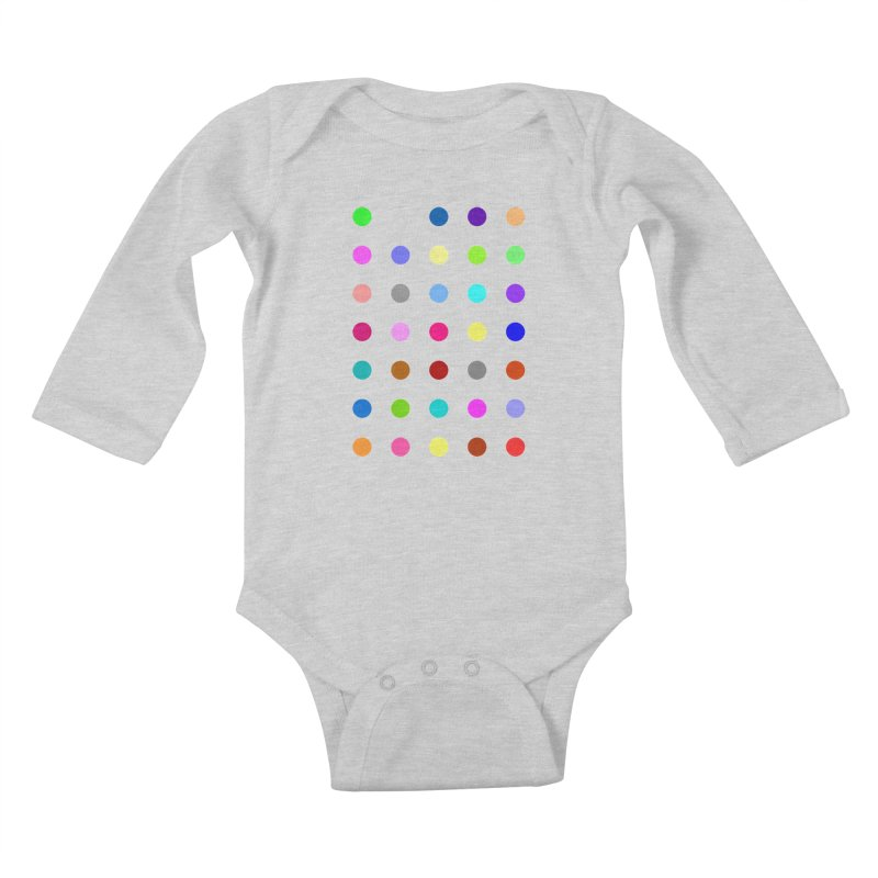 Nitrazolam Kids Baby Longsleeve Bodysuit by Robert Hirst Artist Shop