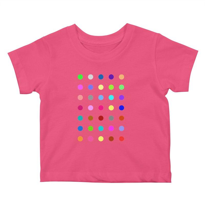 Nitrazolam Kids Baby T-Shirt by Robert Hirst Artist Shop