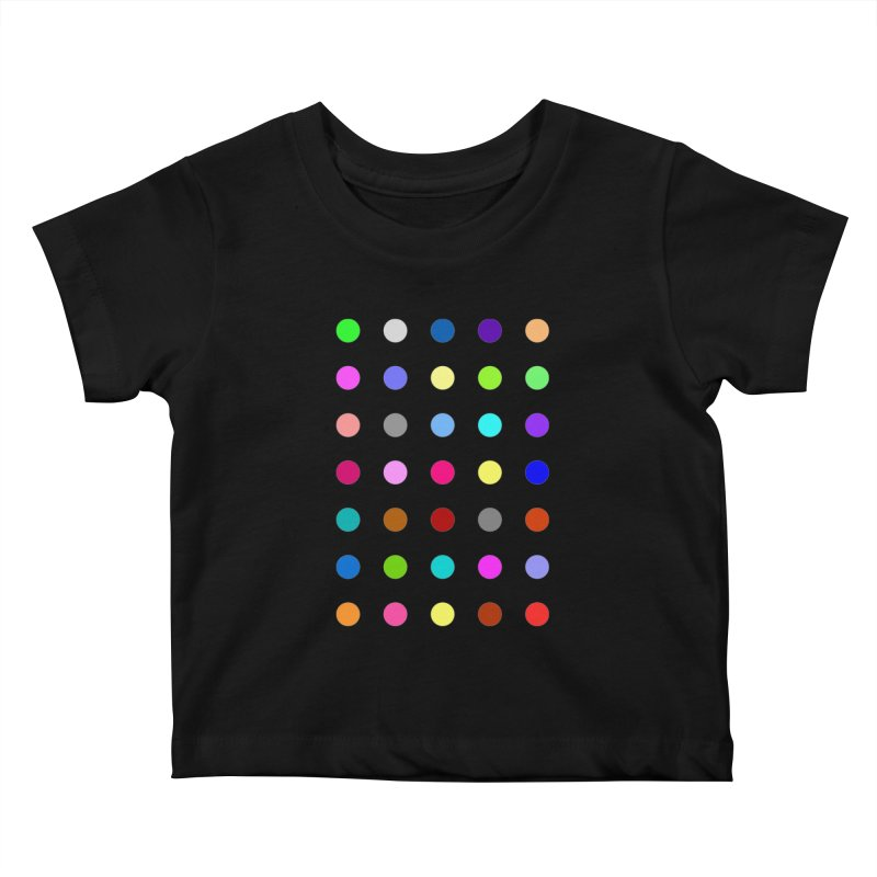 Nitrazolam Kids Baby T-Shirt by Robert Hirst Artist Shop