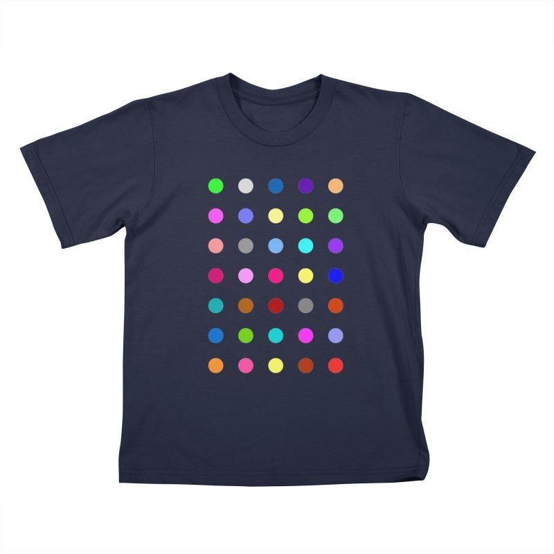 Nitrazolam Kids T-Shirt by Robert Hirst Artist Shop