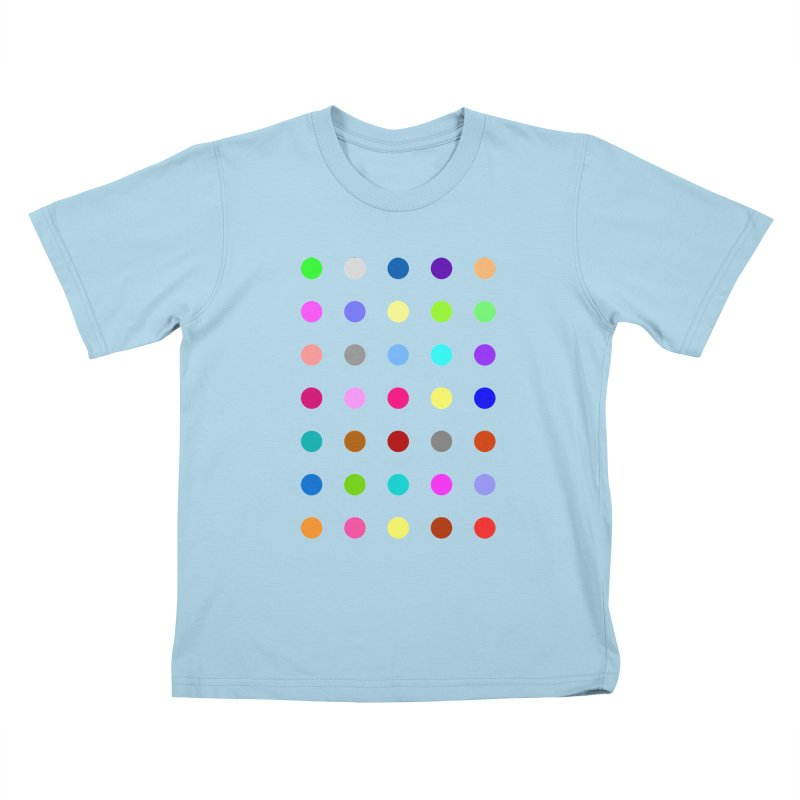 Nitrazolam Kids T-Shirt by Robert Hirst Artist Shop