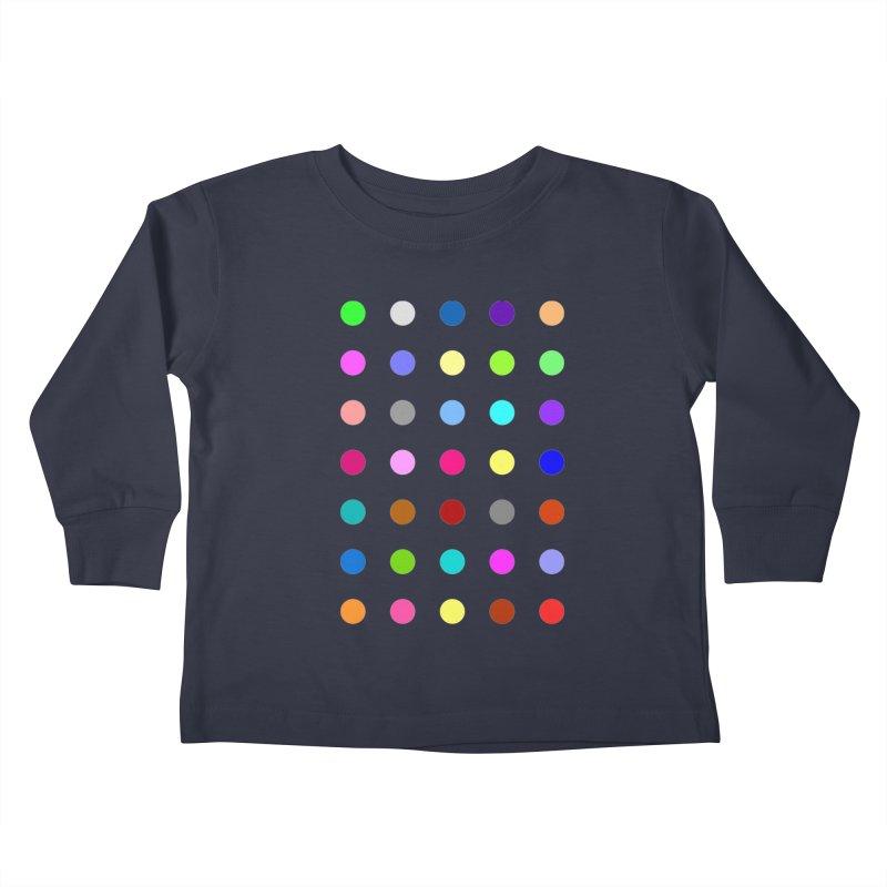 Nitrazolam Kids Toddler Longsleeve T-Shirt by Robert Hirst Artist Shop