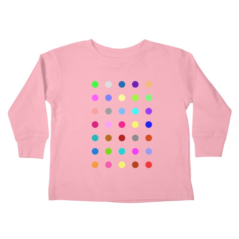Nitrazolam Kids Toddler Longsleeve T-Shirt by Robert Hirst Artist Shop