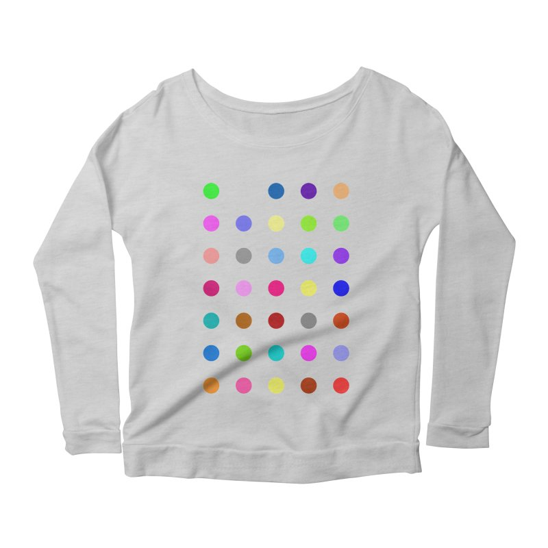 Nitrazolam Women's Scoop Neck Longsleeve T-Shirt by Robert Hirst Artist Shop