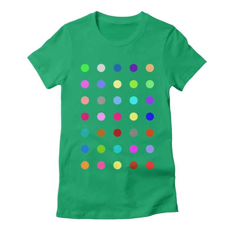 Nitrazolam Women's Fitted T-Shirt by Robert Hirst Artist Shop