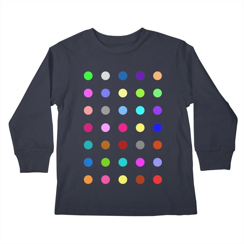 Nitrazolam Kids Longsleeve T-Shirt by Robert Hirst Artist Shop