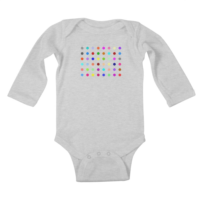 Norflurazepam Kids Baby Longsleeve Bodysuit by Robert Hirst Artist Shop