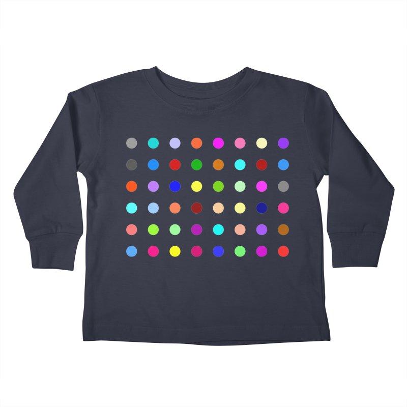 Norflurazepam Kids Toddler Longsleeve T-Shirt by Robert Hirst Artist Shop