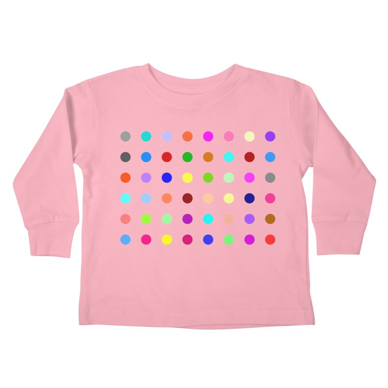 Norflurazepam Kids Toddler Longsleeve T-Shirt by Robert Hirst Artist Shop