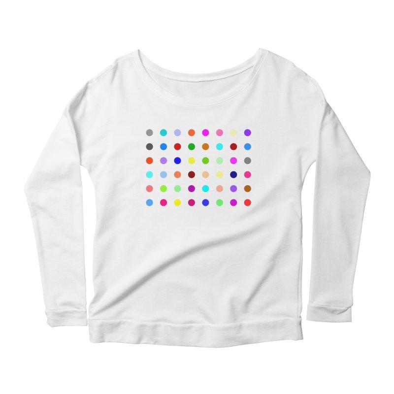 Norflurazepam Women's Scoop Neck Longsleeve T-Shirt by Robert Hirst Artist Shop