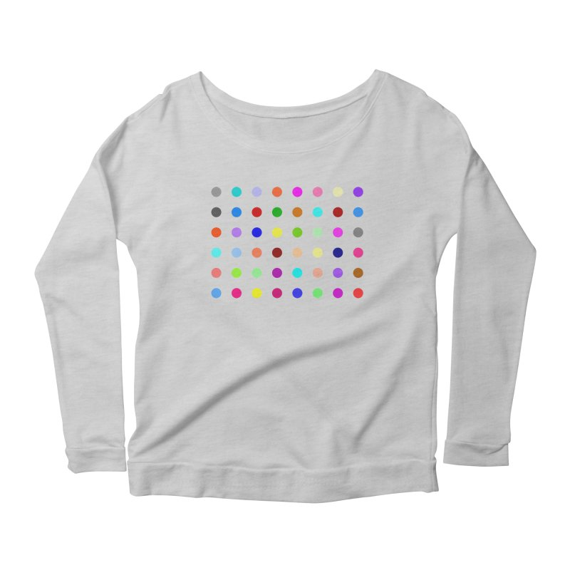 Norflurazepam Women's Scoop Neck Longsleeve T-Shirt by Robert Hirst Artist Shop