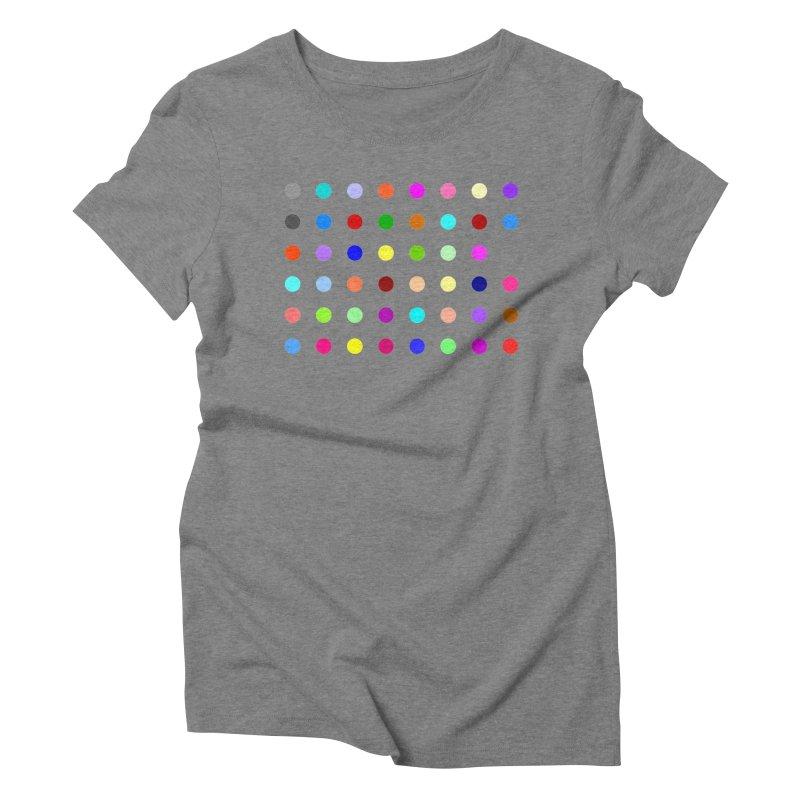 Norflurazepam Women's Triblend T-Shirt by Robert Hirst Artist Shop