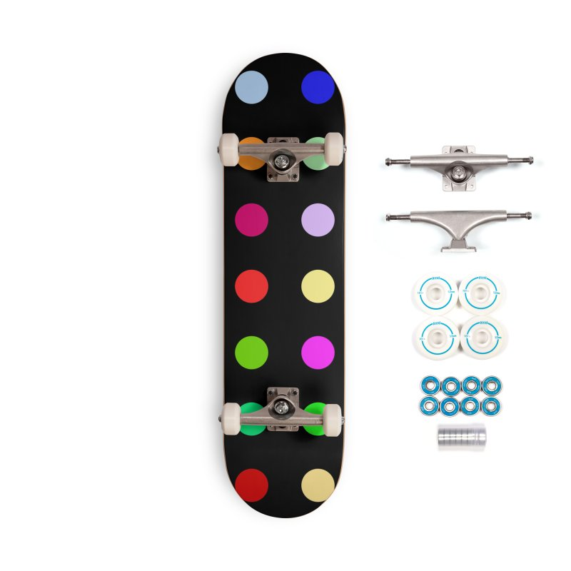Sakteboard Black #1 Accessories Complete - Basic Skateboard by Robert Hirst Artist Shop