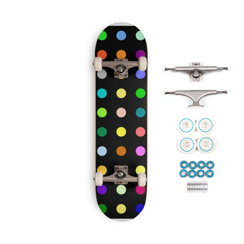 Sakteboard Black #2 Accessories Complete - Basic Skateboard by Robert Hirst Artist Shop