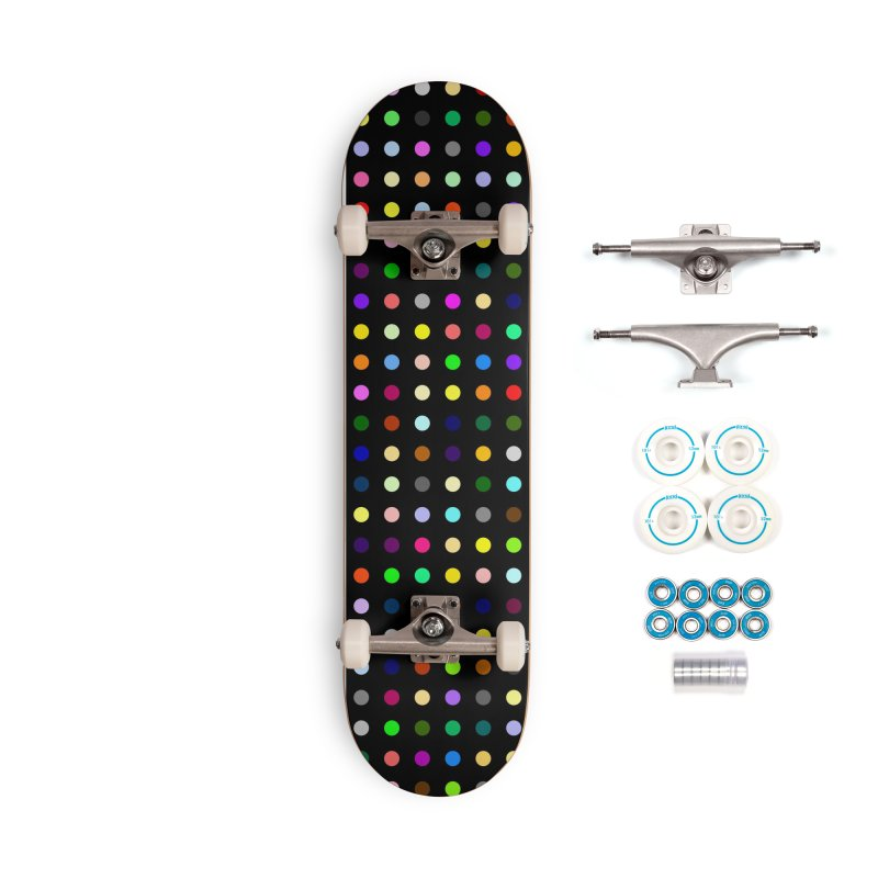 Sakteboard Black #5 Accessories Complete - Basic Skateboard by Robert Hirst Artist Shop