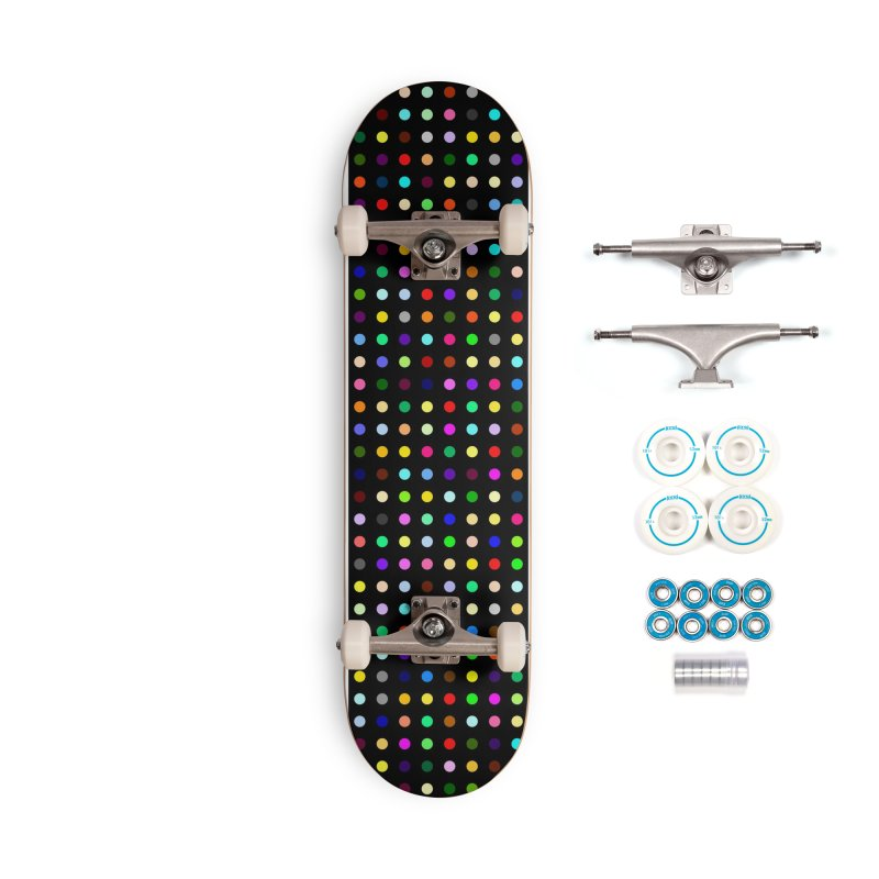 Sakteboard Black #7 Accessories Complete - Basic Skateboard by Robert Hirst Artist Shop