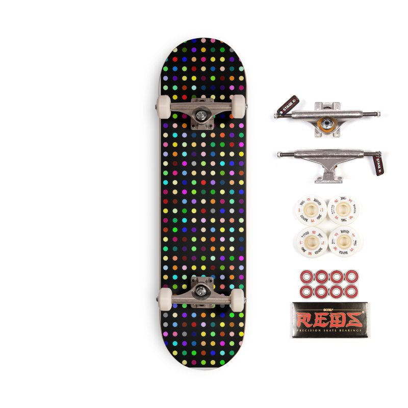 Sakteboard Black #8 Accessories Complete - Pro Skateboard by Robert Hirst Artist Shop